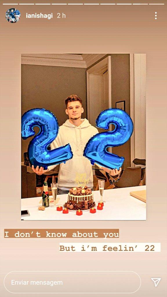 Ontem foi aniversário do Ianis e hoje ele postou essas fotos da comemoração dos seus 2️⃣2️⃣ anos em seu Instagram:  📸  https://t.co/8zITcNTC0j  #Birthday  #22anos  #IanisHagi 🎈 https://t.co/EAklPWYBMp