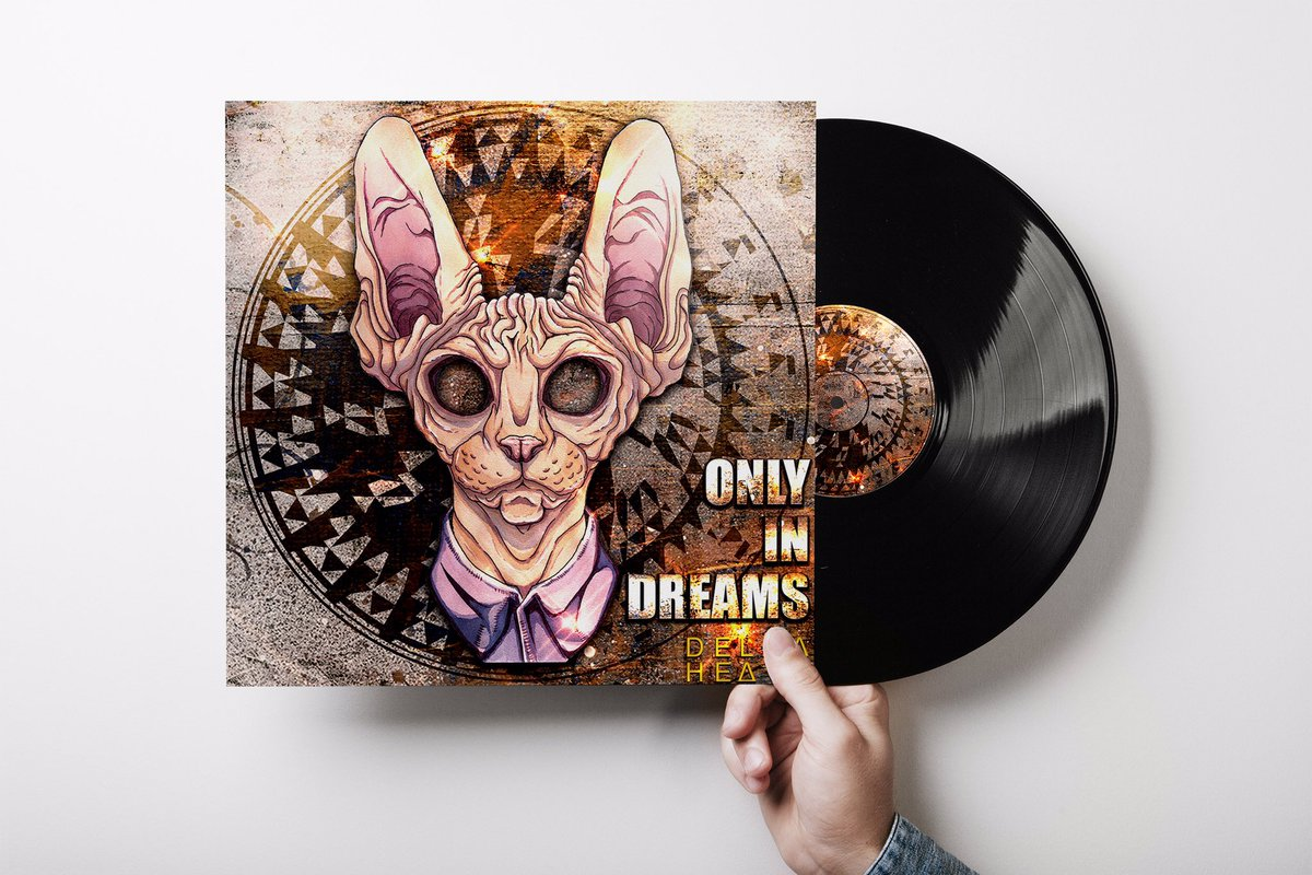 Another colab with @dagesbenjamin doing an amazing job with his character design and myself working on background design and typography. Original album is Only in Dreams by @deltaheavyuk . Keep looking forward to more. #albumcoverdesign #digipak #vinyl #graphicdesigner #design https://t.co/4cJdKvTIFG