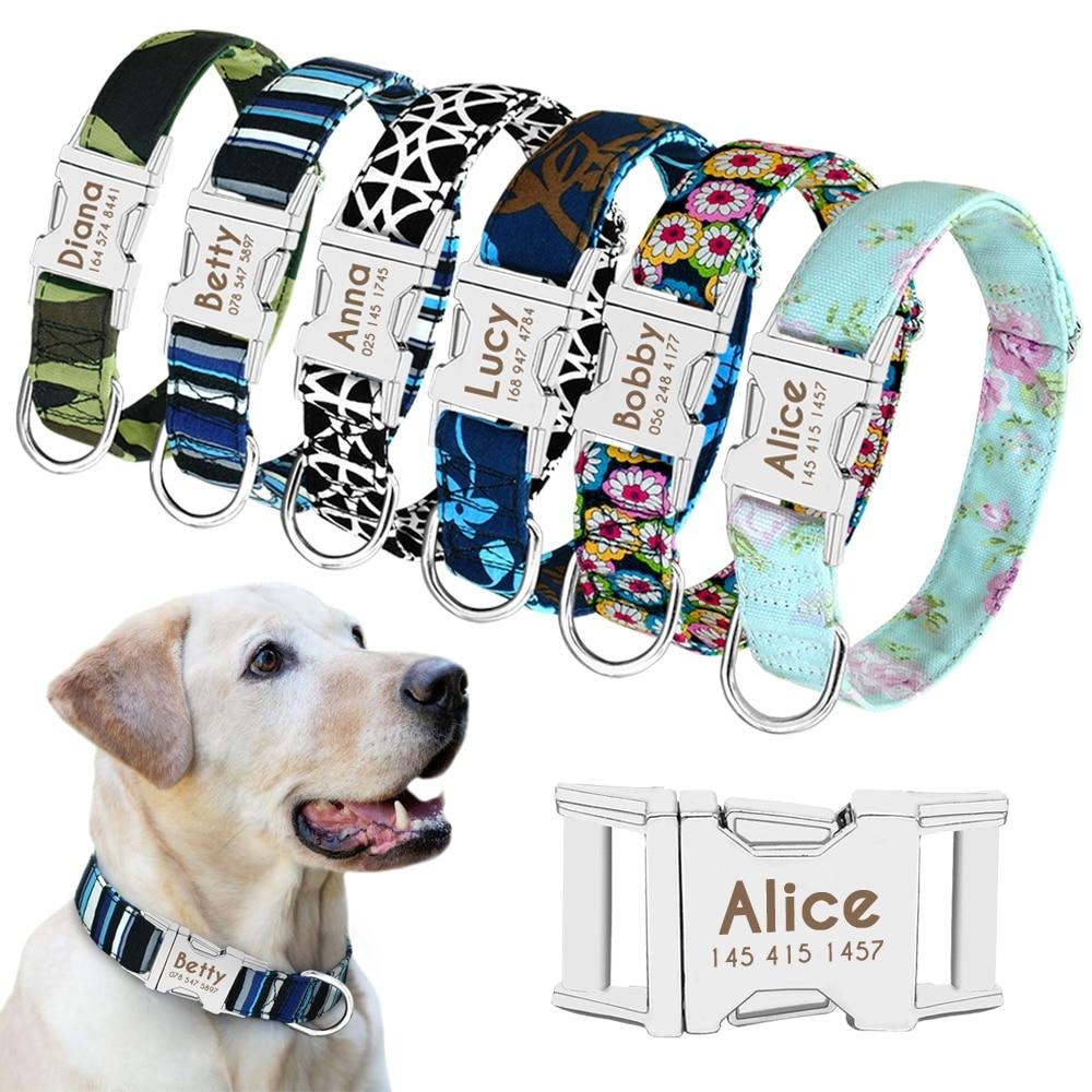 Dog Personalized Nylon Collar #pet #hound https://t.co/UEn8z6RSx1 https://t.co/cTwGVR8s36