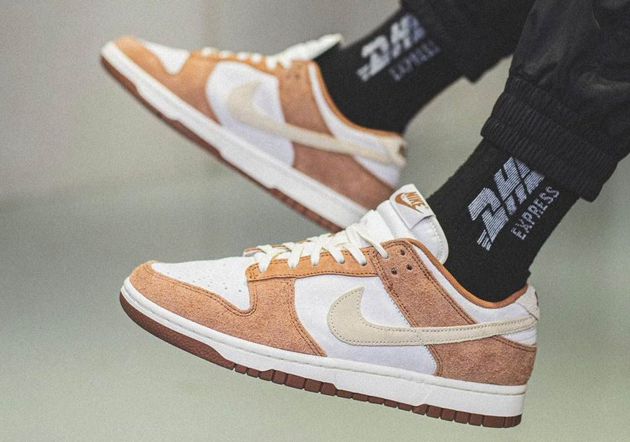 A Nike Dunk Low 'Medium Curry' colorway is on the way! bit.ly/Sneaker_News