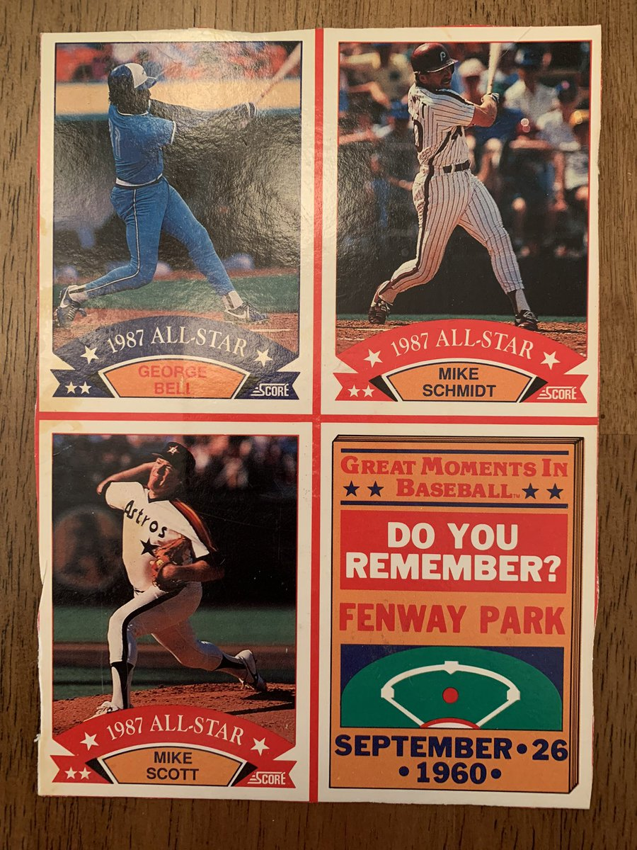 Assorted late 80s wax box bottom cards uncut. $5 each plus shipping. @HobbyConnector @Hobby_Connect @HiveCards https://t.co/3mjoHemga1