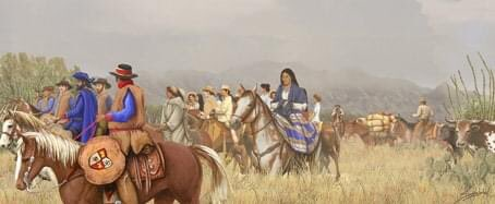 California Mission History #OTD  October 23, 1775 - Thirty families (240 men, women, and children) of the Anza Expedition departed Tubac Presidio. Their goal, to colonize San Francisco. @ArchdioceseSF @AnzaTrailNPS @sfgov   Questions? Visit https://t.co/lHdFogLauU. https://t.co/VDLl9TCMXC