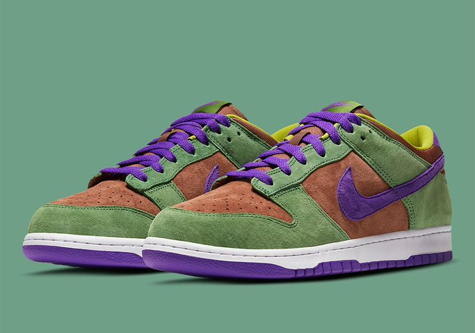 The Nike Dunk Low 'Veneer' is set for an 11/10 release! bit.ly/Sneaker_News