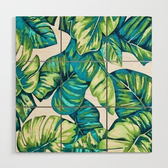 #Colorful #Tropical #Leaves #Monstera #Banana Capture #rustic spirit with #artwork and #artistic #design  #digitalart by #taiche #Gift #sophisticated Baltic Birch #wood #personalized #wallart for the #bedroom #livingroom #bathroom #office #homeoffice. https://t.co/6DMlol1waz https://t.co/3cQYM5SJPd