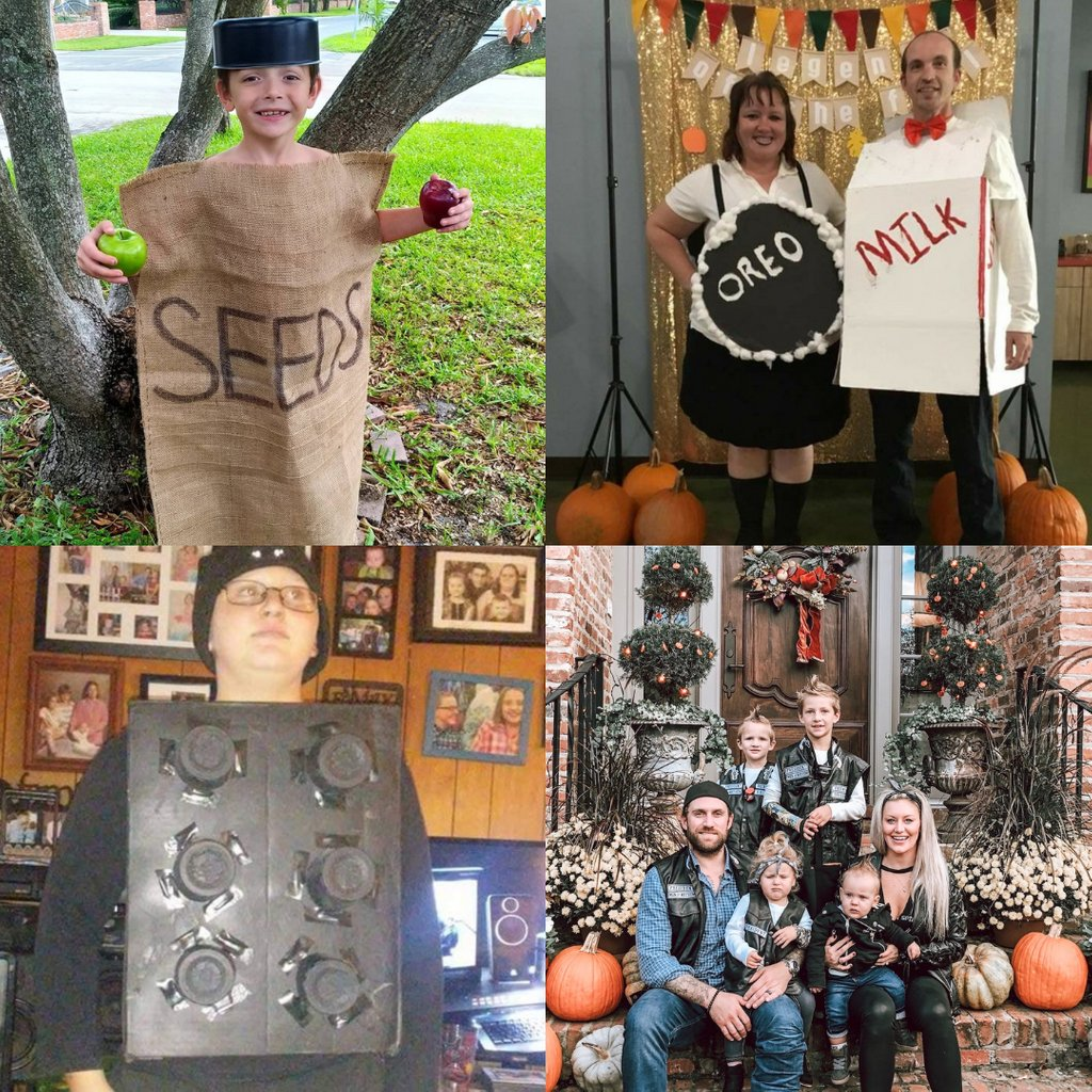 Contestants entered their #spookiest, #silliest and most #creative #Halloween #costume 🎃ideas to show off their talent and for a chance to win a $250 #Amazon Gift Card! Vote for your favorite 👉🏼https://t.co/xgfWBQJdl4 @jeannieprosser @julieguilford @ReneeARod https://t.co/QRWwca3IGb