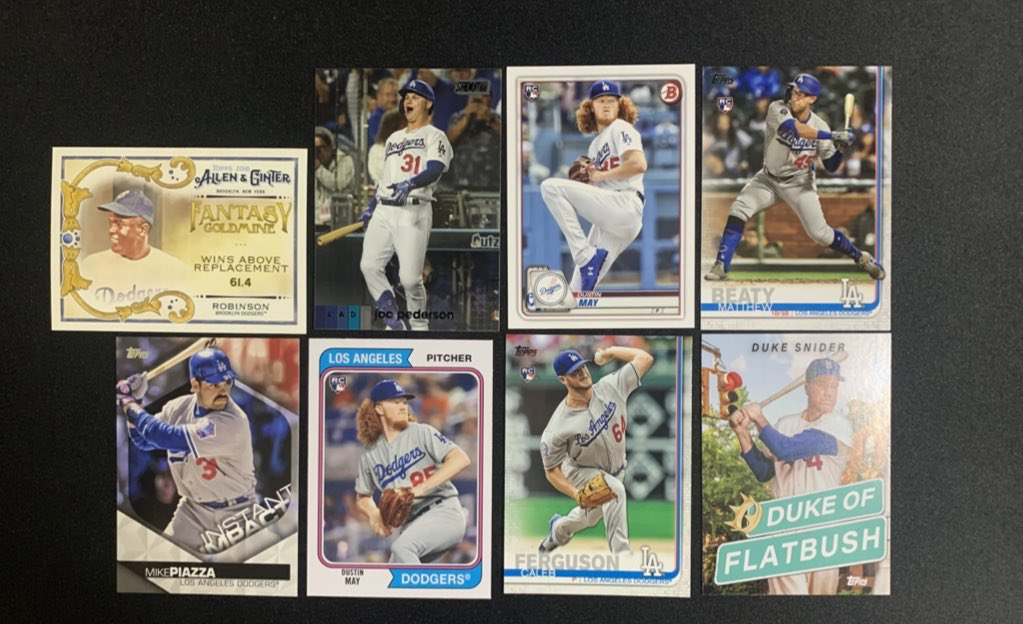 Dodgers lot   $4 shipped   @HobbyConnector @sports_sell @Hobby_Connect https://t.co/FL5bADtHH3