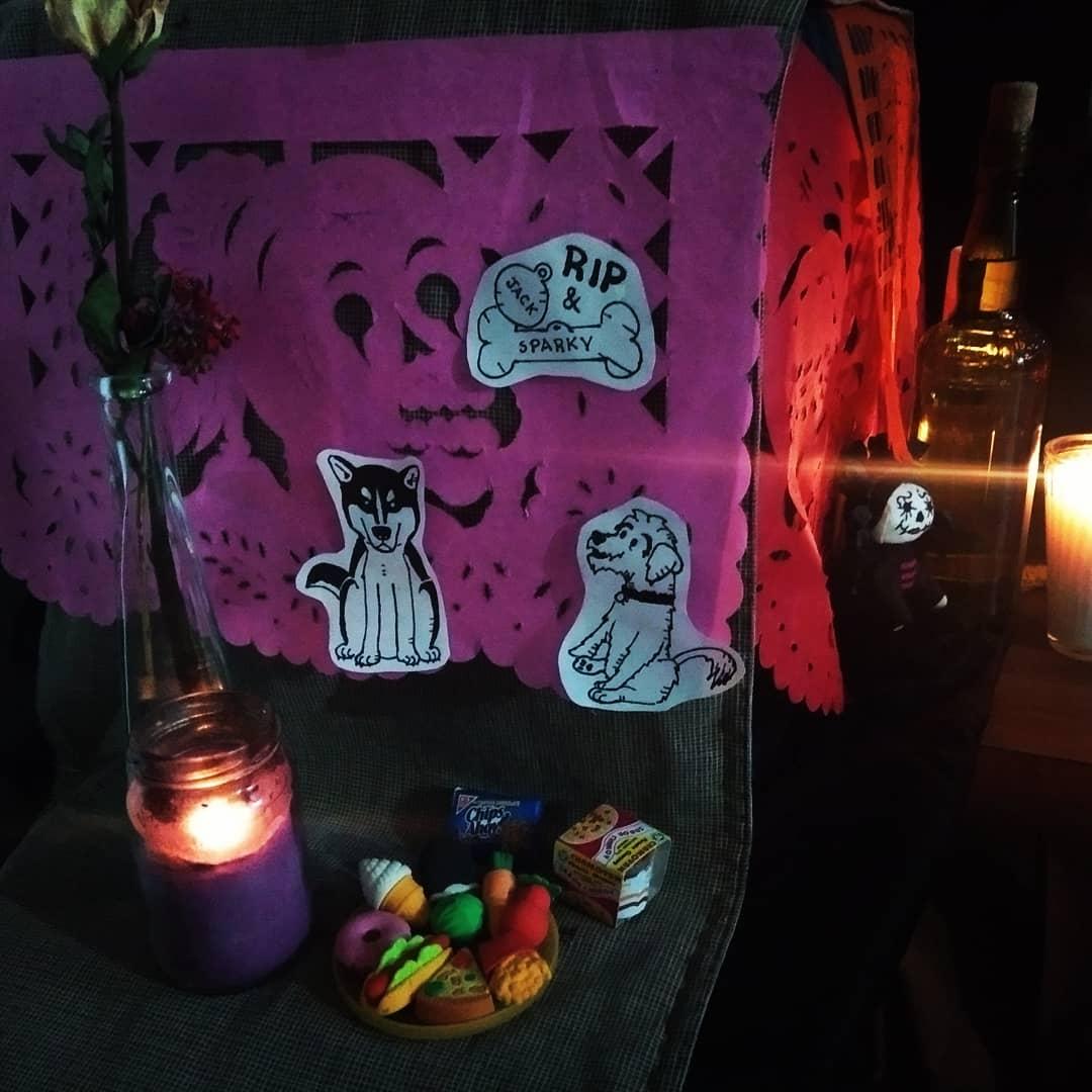 Rest in Peace #Inktober #pet #rip #Draw #drawing  #diademuertos #dayofthedead #altar #mascotas #inktober2020 https://t.co/L6bK2I2QuW