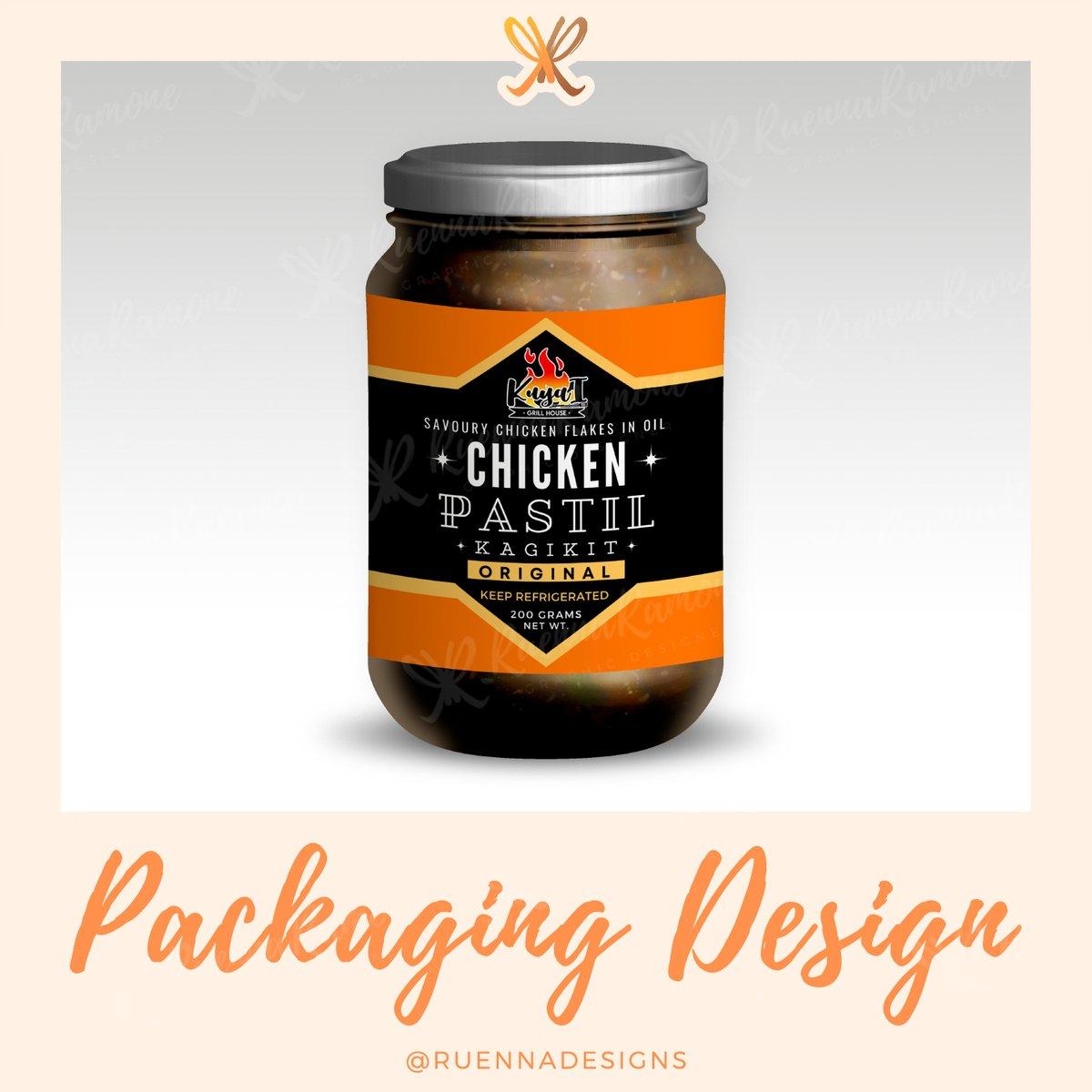 #ruennadesigns #graphicdesigner #differencemaker #creativewomen #fvacreatives #packagingdesign #photoshop #mockup #chickenpastil #davaofood #businessdesign https://t.co/vTOoou7kZB