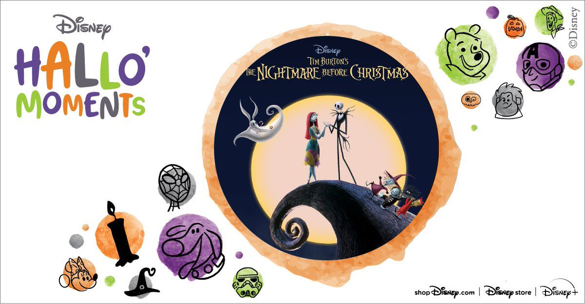 And catch Nightmare Before Christmas streaming on @disneyplus this weekend during #DisneyPlusHallowstream !