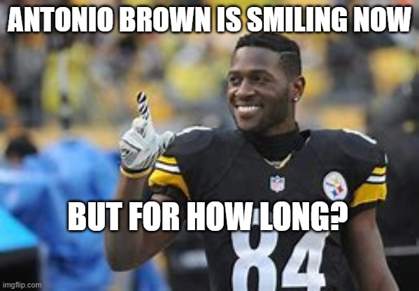The #Buccaneers are signing #AntonioBrown.  Curious to see if #TomBrady will yell at him. https://t.co/rGwmrepNyW