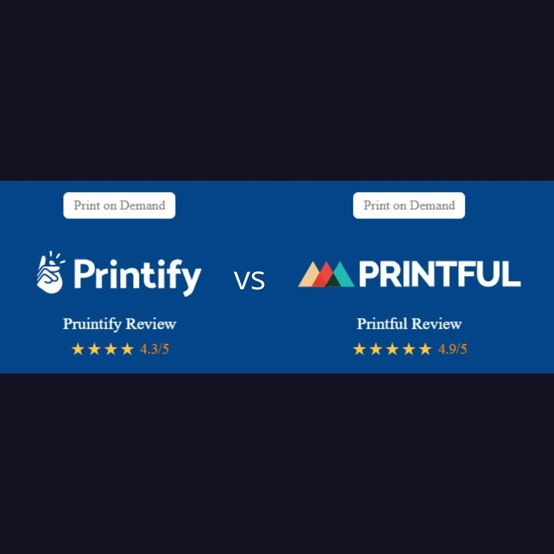 Printify vs Printful – 5 Important Things Nobody Compared Before  Read here about the best comparison of print on demand t-shirt companies: https://t.co/7QuOr0wU7w . . . #ecommerce #printify #printful #design #graphicdesigner #onlinestore #printondemand #tshirtdesign https://t.co/MikgxGvqej