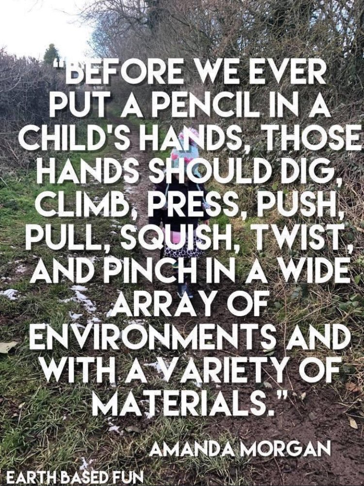 @schnekser, I saw this and thought of you! Have a great weekend! #teachbetter #outdooreducation
