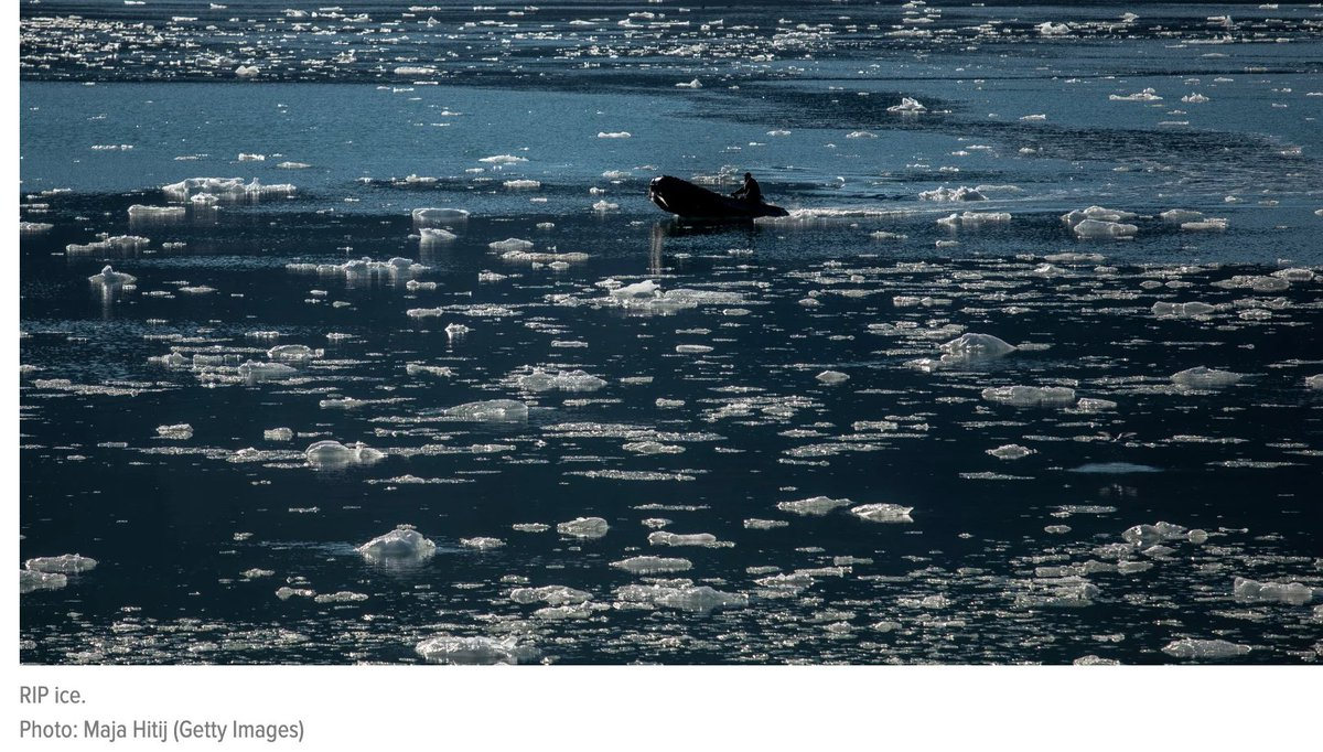 https://t.co/L0fN15mxri #ClimateAction #ClimateChange #ClimateEmergency #aerosoleffect #COVID19 #Riot2020  This Year's Arctic Sea Ice Is Failing to Form, Raising a Huge 'Red Flag' https://t.co/ESeFJaAUlb https://t.co/2U6nnk7NTW