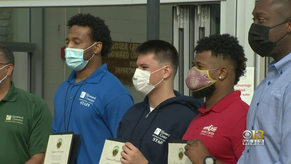 Howard County Recognizes Life Guards, Good Samaritan Who Saved Swimmer In Distress https://t.co/a3CzVFIMYK https://t.co/aFD41Mtq2r