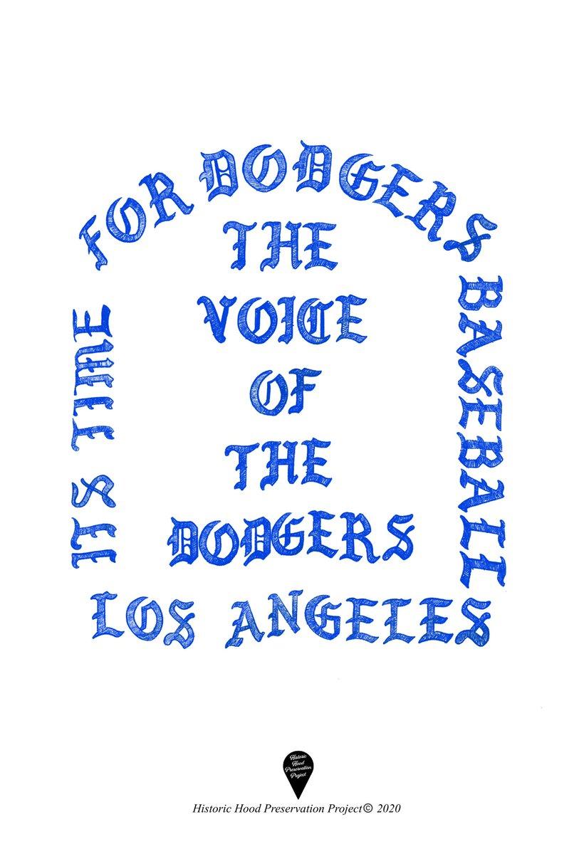 I FEEL LIKE SCULLY🎙⚾️💙💯   #Dodgers https://t.co/FPliWFxHC2