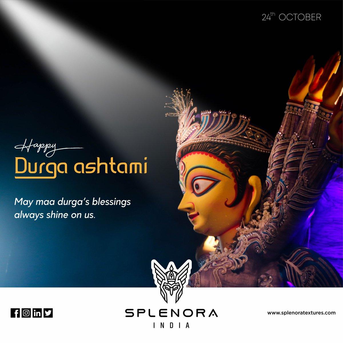 Durga Puja  #durgapuja #durga #navratri #maadurga #india #durgamaa #durgapujo #festival #festival #splenora #splenoraindia #textiles #industry #cloth #jeans #denim #febric #newcollection2020 #morbi #india https://t.co/kTGrMlfMAi