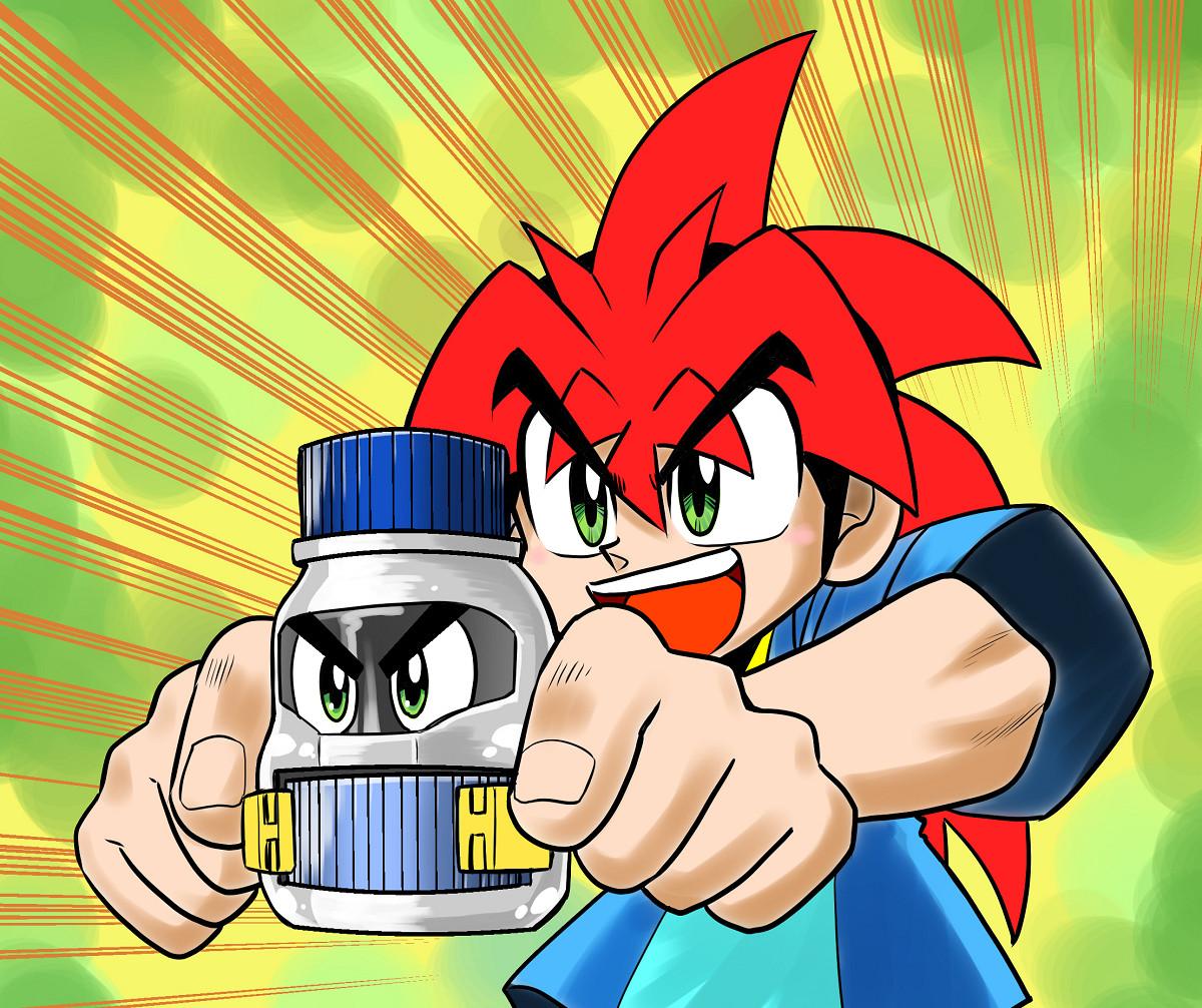 初めましてだけど懐かしいボトルマン発売おめでとうございます!#ボトルマン