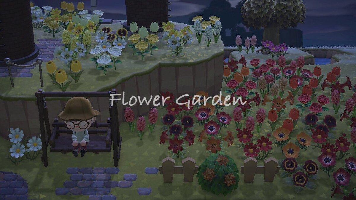 test ツイッターメディア - ややお久しぶりです🌾 上段は黄色と白、下段は赤と橙色に分けた小さなお花畑を作りました🌻 あつ森のお花の中ではチューリップが1番好き! 名前の由来がユリってこともあってユリには愛着湧いてます(^^) #あつ森 #あつ森写真部 https://t.co/7ONcBJKJ1S