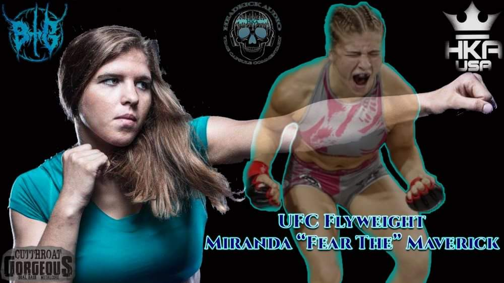 Go check out my interview with @hka_usa sponsored athlete @FearTheMAVERICK on my YouTube channel, she makes her @ufc debut tomorrow 🤘  https://t.co/vF4EwVEAJT  @InvictaFights champ🤘 #UFC254  @CTG_OFFICIAL https://t.co/82irDUBYr8