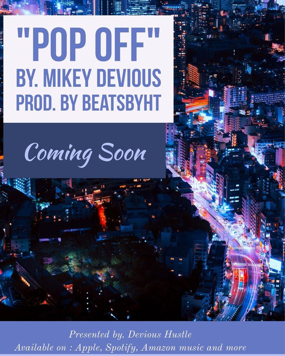 "Always here to give to a slapper  My single ""pop off"" drops soon.  #influencer #mikeydevious #rap #hiphop #rapper  #recordlabel #artist #bayarea  #sanjose #sanfrancisco #oakland #unsignedartist #artist #trending #followers #music  #upcomingartist #apple #spotify #amazonmusic https://t.co/2Go2FBMIIm"