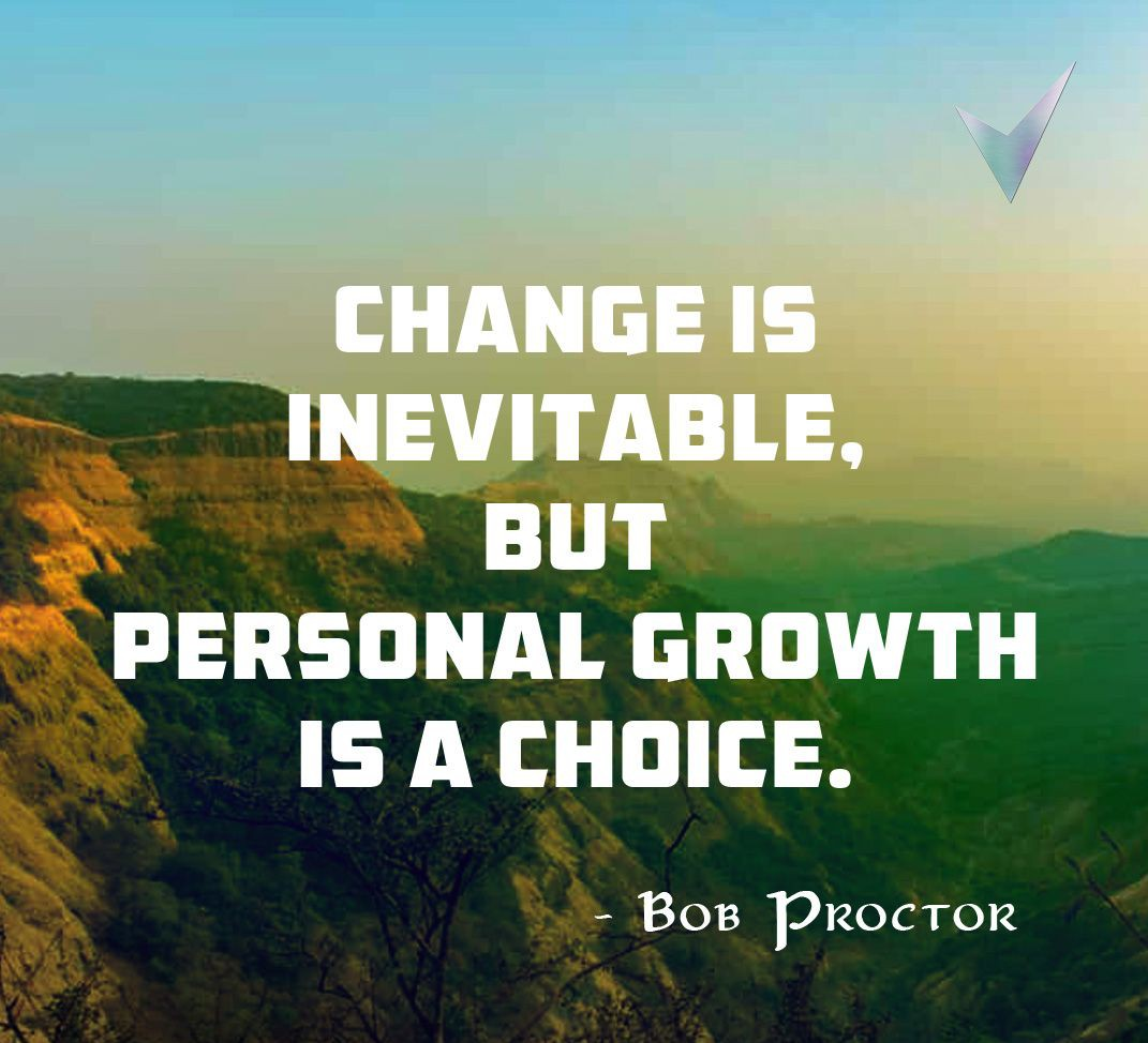 Are you Growing or Changing?  Change is permanent and is inevitable but how we want to change is based on our choices which we make in life journey....  Make the choices based on righteousness  as the  Growth is on the path of righteousness.  #Leadership  #Growth  #SaturdayVibes https://t.co/Ze45BwCE9b