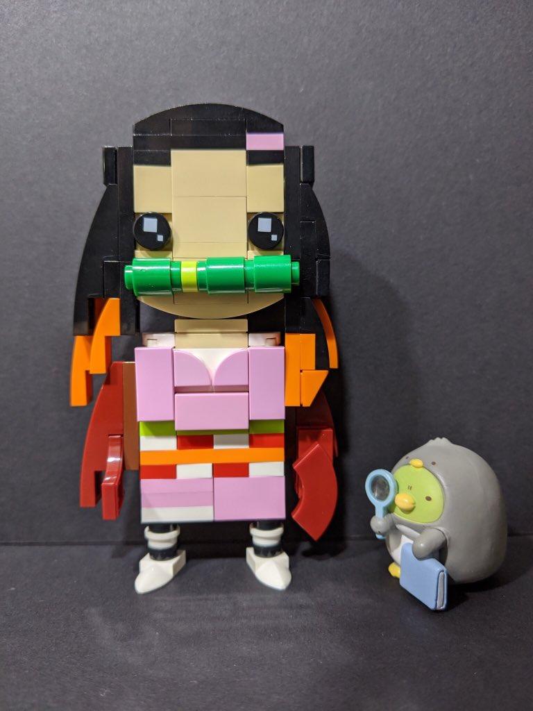 #禰豆子 可愛い❤️ #鬼滅の刃 #鬼滅の刃無限列車  #すみっコぐらし #すみっコ写真部 #LEGO  #レゴ #AFOL #樂高  #legoideas  #ガチャガチャ #rement  #bandai #バンダイ @sumikko_mobile @LEGOIdeas @kimetsu_off https://t.co/VSl8VRirFB