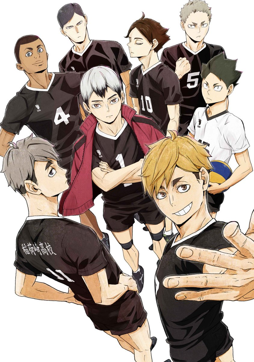 Wen On Twitter Some Illustrations From The Haikyuu To The Top 2021 Anime Calendar