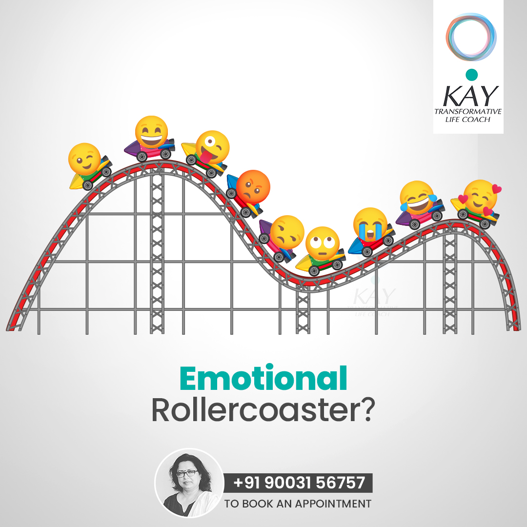 Feeling #happy in one minute and dejected in next minute? Learn to control your #emotionalrollercoaster with Mrs.Kamini, your beloved Life Coach.  https://t.co/JOSen5Mykr Call 9003156757   #impactatkay #lifecoaches #mindfulness #meditation #sad #anger #depression #moodswings https://t.co/ASiie23FaS