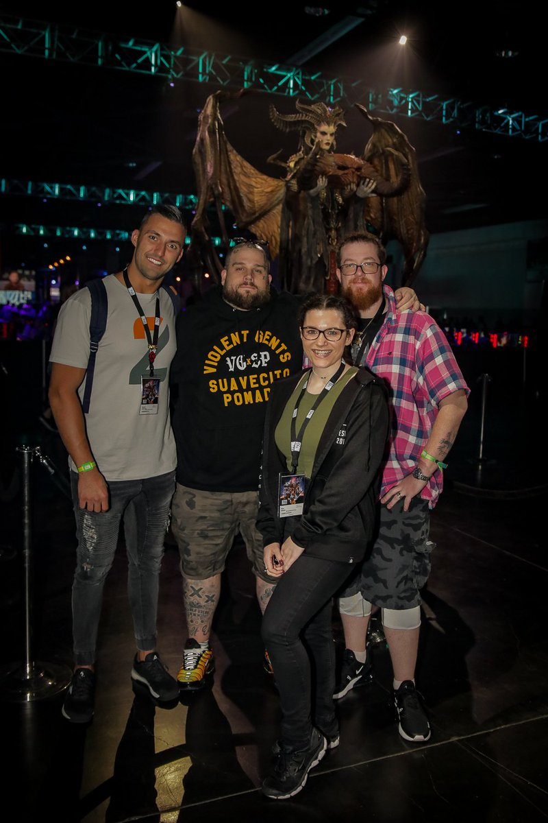 It's #blizzcon time :( way to many people to tag but I'll try @Warcraft