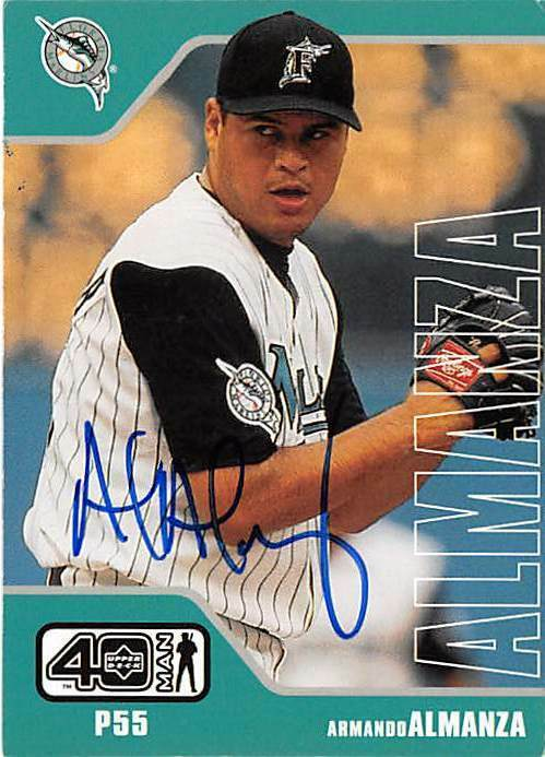 Happy birthday to former Florida #Marlins pitcher & 2003 World Champion Armando Almanza. Almanza was drafted in 1993 by the St. Louis Cardinals & made his #MLB debut in 1999 with the Fish. He played with #Florida from 1999-2003 but was injured in August before the 2003 playoffs. https://t.co/IVbtaijZPP