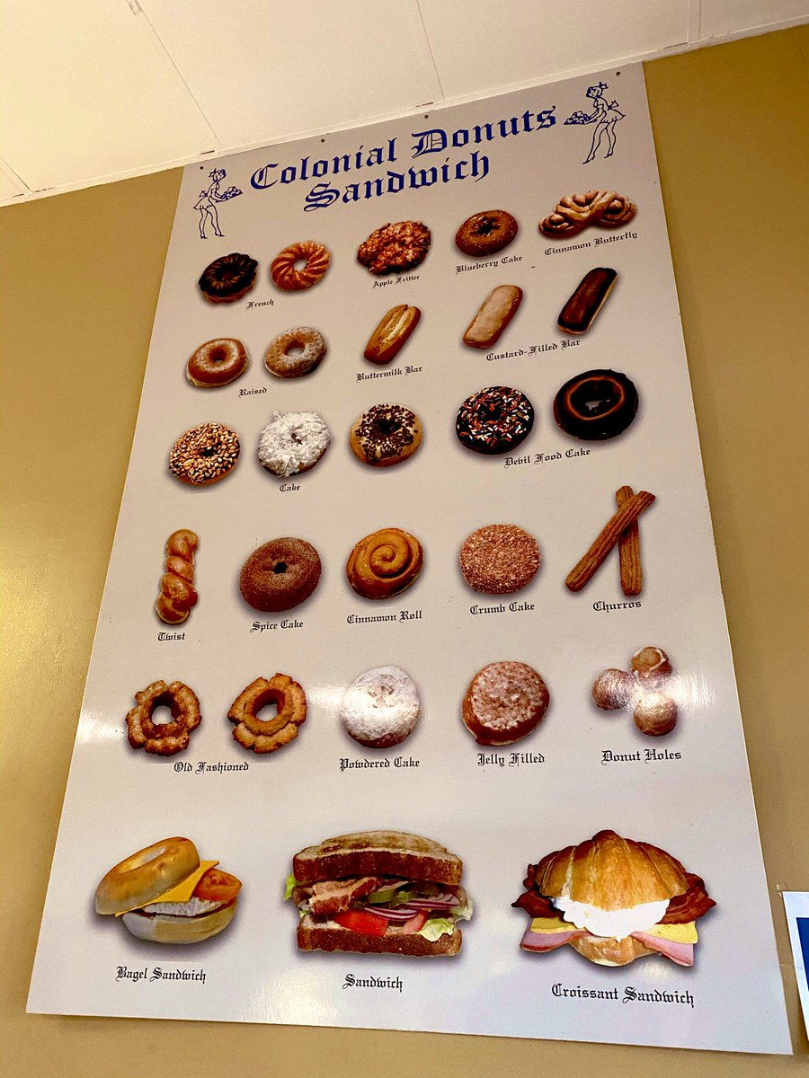 Spoilt for choice @ Colonial #Donuts #Oakland & it's open 24/7-if you have those late nite cravings, you knw whr to go #OaklandLoveIt @visitoakland @VisitCA #SupportLocalBusinesses #SupportSmallBusinesses #eatlocal #SupportLocal #Foodie #food @foodtravelchat #BayArea #California https://t.co/DuIjcE0GMF