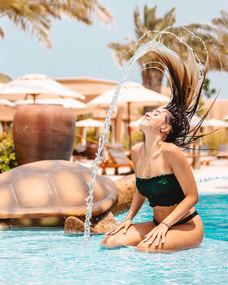 Weekend mood: flip your hair like you just don't care. 🌞  📷: @lifethroughsubhan 👩: @dudasilveira07   #SaadiyatRotana #HappyWeekend #SaadiyatIsland #inAbuDhabi https://t.co/co5Il3fAOK