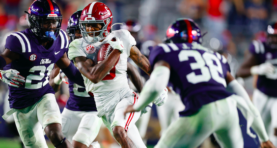 Alabama WR DeVonta Smith identifies difference between Mac Jones, Tua and Jalen Hurts: https://t.co/YDCIE2Fqd0 https://t.co/OwssxO7aHg