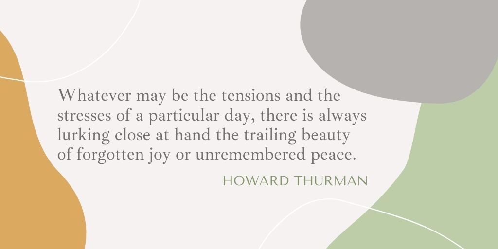 """Whatever may be the tensions and the stresses of a particular day, there is always lurking close at hand the trailing beauty of forgotten joy or unremembered peace."" –Howard Thurman  #enneaworld #tne #thenarrativeenneagram #enneagram #wisdomweekend #wordsofwisdom #howardthurman https://t.co/Ka4EhMWY1g"