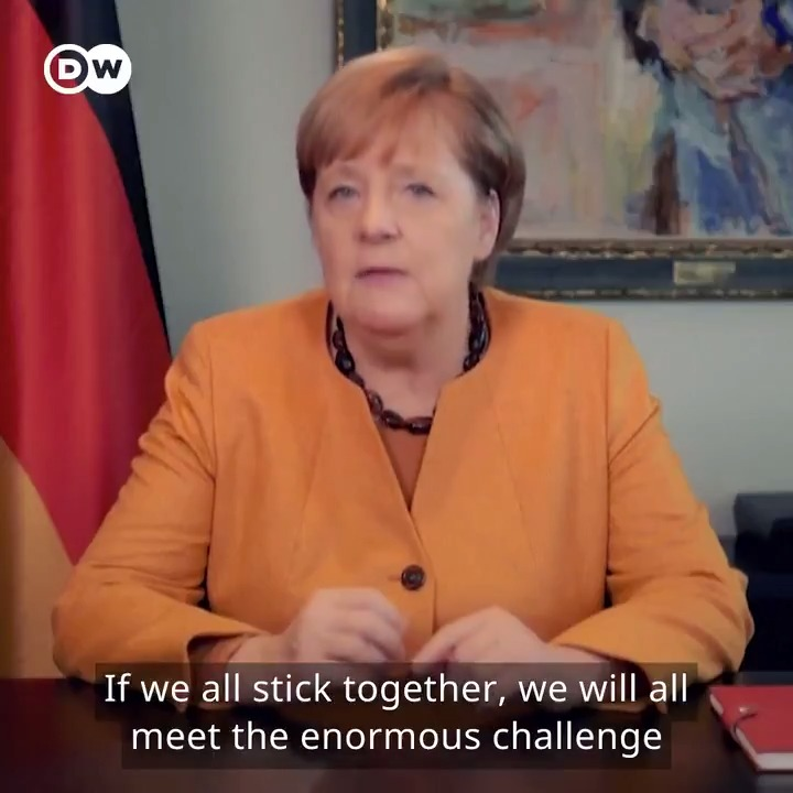 With COVID-19 infections hitting new records in Germany, Chancellor Angela Merkel has appealed to German citizens with her number-one rule.