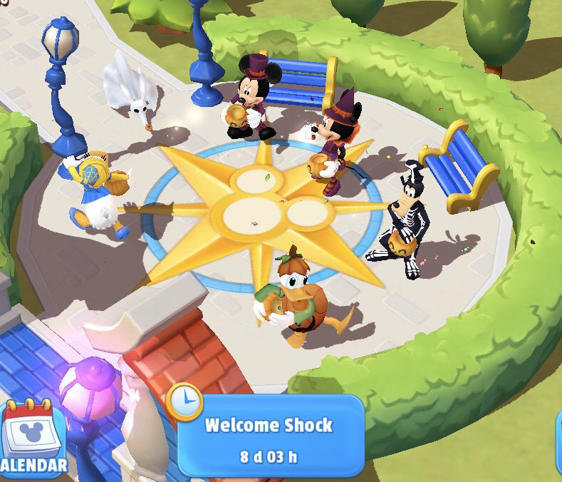 Ok I made Donald join this time but note he's not really a part of this event. #DisneyMagicKingdoms #Halloween https://t.co/3ZGZEeWEWJ