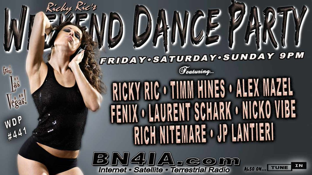 #NowPlaying @RickyRicMix's #WDP441 ⚡ On @BN4IA #Radio #Tokyo❗Tune In Here ☞ https://t.co/0N1VyUOt7Q ☜ #radio #dance #trance #house #edm #DJSets #DJs https://t.co/RAjAKXKGXD