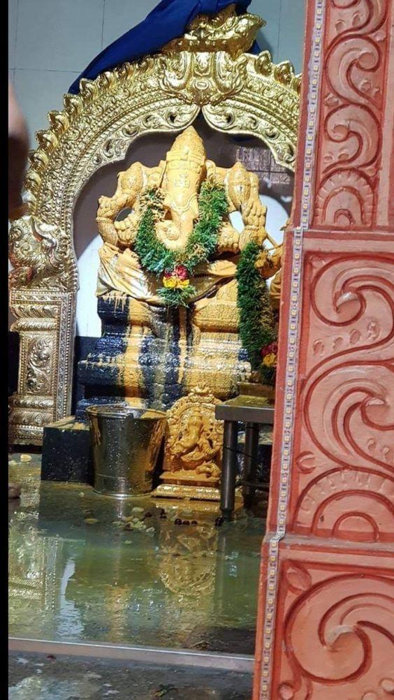 Photo Credit: Nalayni 121 from Pinterest ( https://t.co/1iiMER8VcB ) May #lordganesha bless all of us. #namastegod #ganesha #ganapathi #ganapathibappamoriya #jaiganesha #ganeshfestival #hindu #god #gajanan https://t.co/3uEGL4BWLW