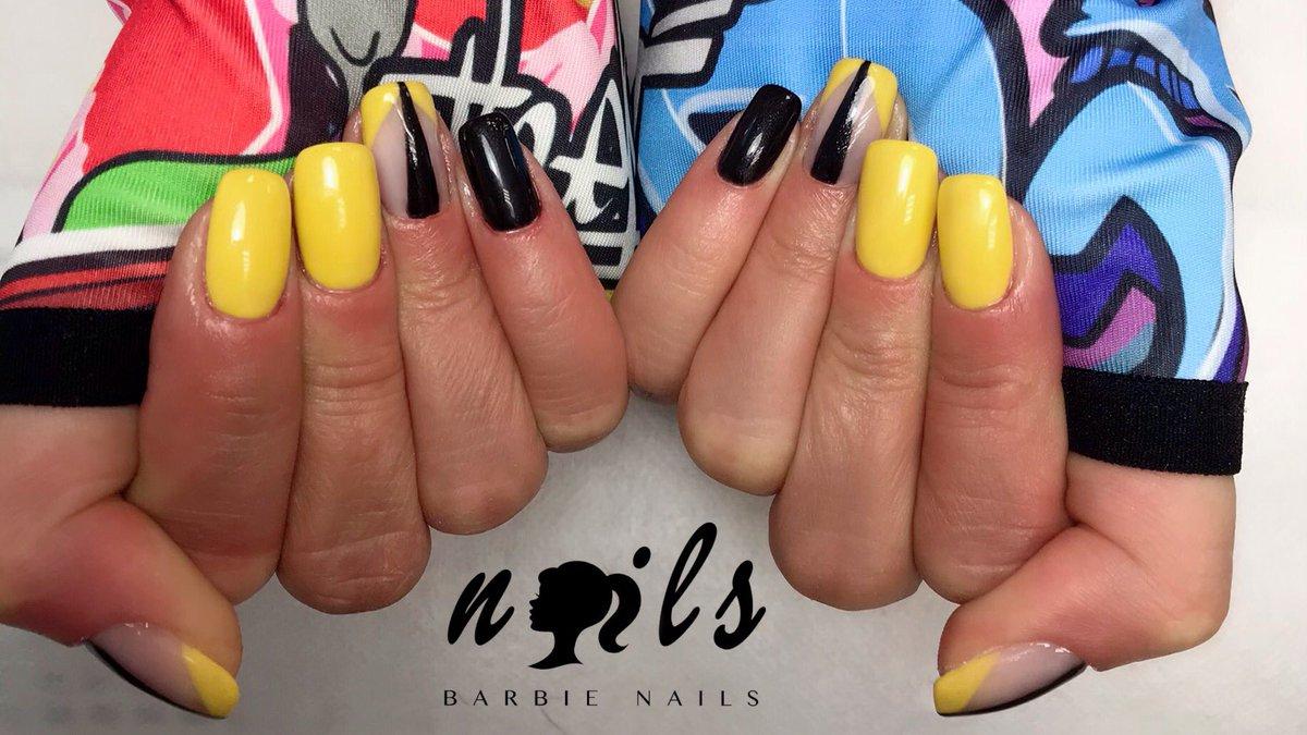 💛🖤💛 𝔹𝕒𝕣𝕓𝕚𝕖 ℕ𝕒𝕚𝕝𝕤 𝔹𝔾 💛🖤 💛#yournailland #nails #sunshineduringautumn #manicure #manicureideas #yellow #yellownails #smilemore #shortmanicure #yellowmanicure #barbienailsbg #beautyworldbg https://t.co/SvurYPi5pc