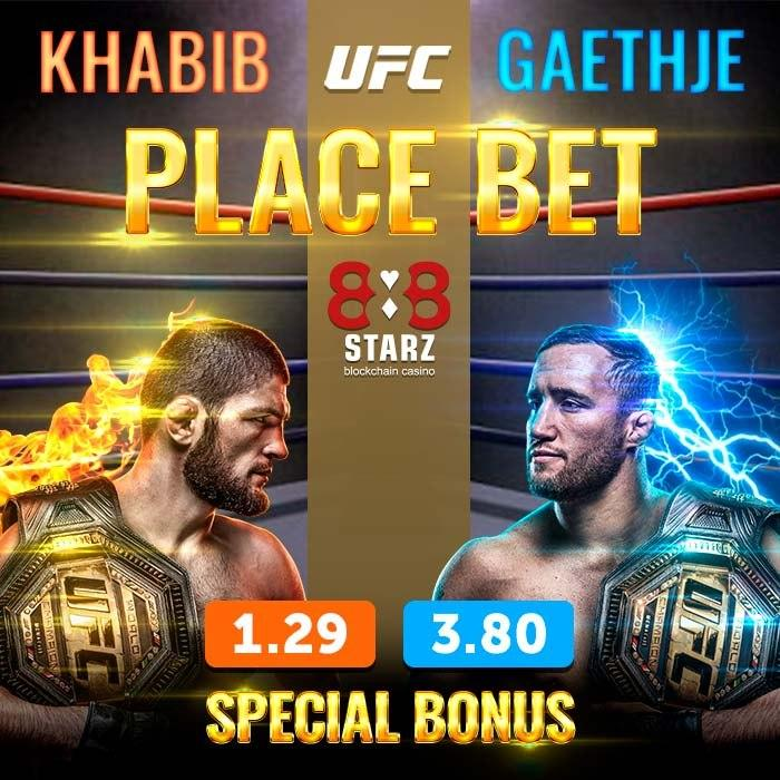🥊👊🥋#UFC254 🥋👊🥊  Last hours to fulfill the conditions to claim your 30 EURO FREE BET on https://t.co/F1EP2QLV4b  Don't miss out on the fight of the year🤟  #BTC #TRX #crypto #slots #USDT #sports #boxing #UFCFightIsland6 #UFC #UFCFightNight #Gaethje #KHABIBTIME #khabibgaethje https://t.co/eIVwTDXS3V