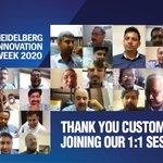 Image for the Tweet beginning: We at Heidelberg India, thank