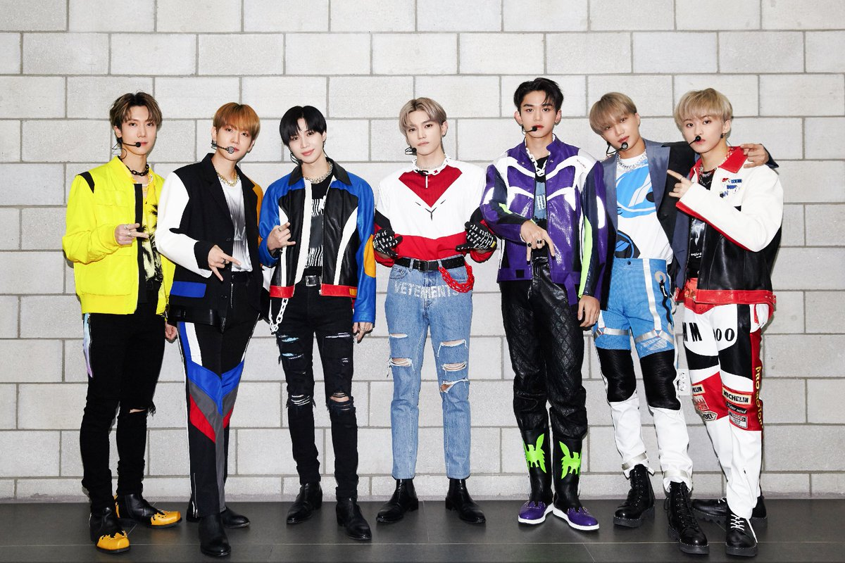 🤘 #SuperM #SuperOne #One #Monster_Infinity #WeAreTheFuture #SuperMTheFuture #LateLateshow @latelateshow