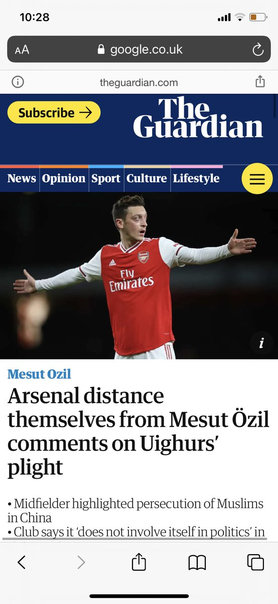 @Arsenal Hypocrites. Genuine embarrassment of a football club https://t.co/8zoh0aqAqO