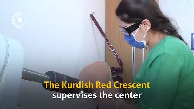 #Rojava clinic gives war-injured patients new limbs and life rudaw.net/english/middle…