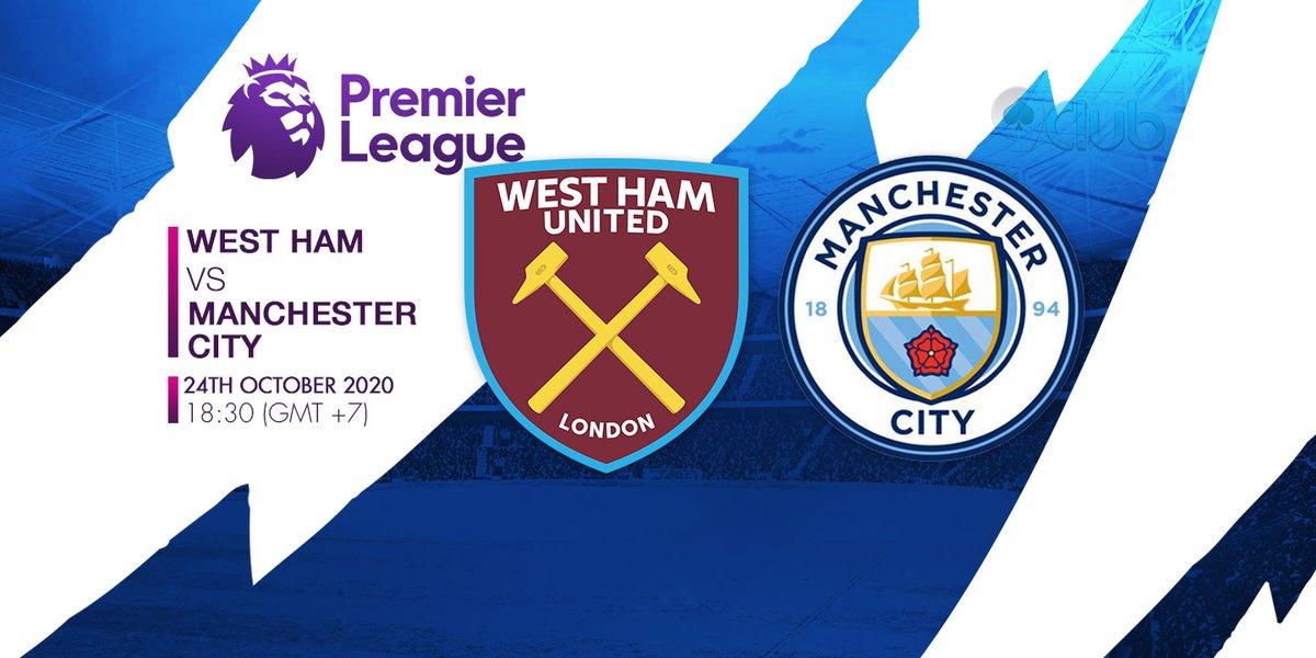 🏆🏆🏆 GIẢI BÓNG ĐÁ NGOẠI HẠNG ANH - ENGLISH PREMIER LEAGUE 🏆🏆🏆 ❤️🧡💛💚💙💜  ⚽ West Ham United Vs Manchester City 🔔 24/10/2020 ⏰ 18:30 (GMT+7)  🔜Zalo: + 84396202978  #9clubvn #NgoạihạngAnh #Premierleague #Bóngđá #Thểthao #WestHamUnited #ManchesterCity https://t.co/zlpyODL6pL