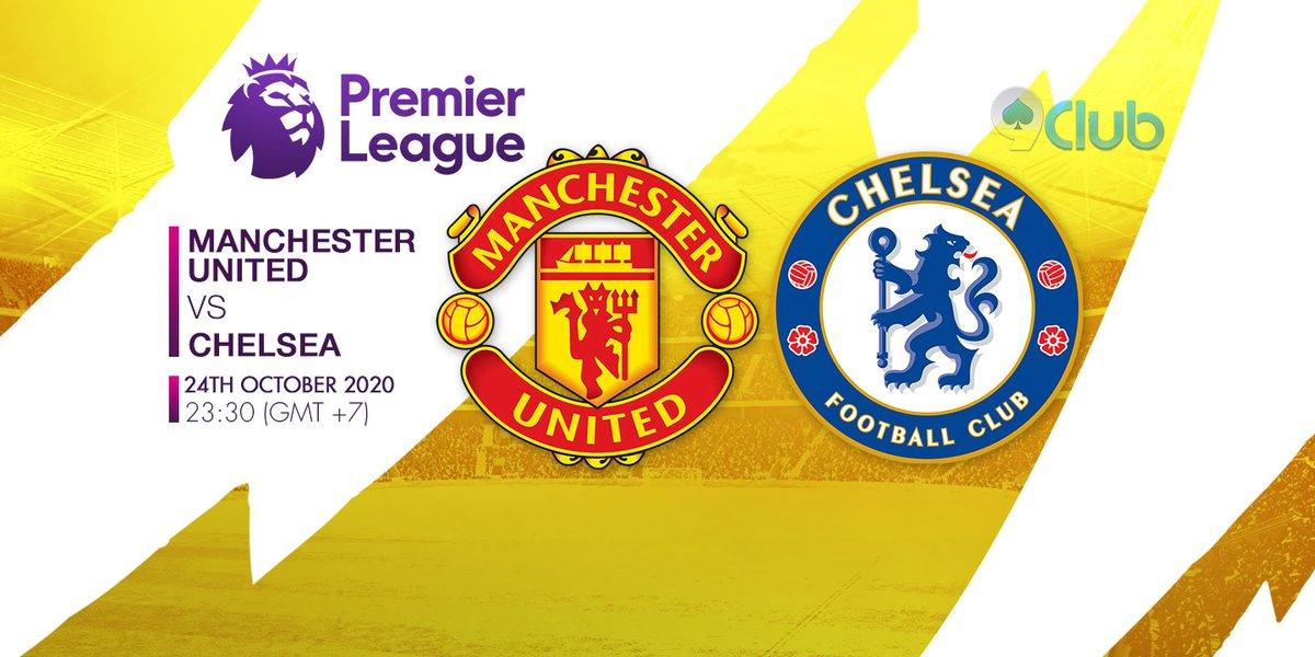 🏆🏆🏆 GIẢI BÓNG ĐÁ NGOẠI HẠNG ANH - ENGLISH PREMIER LEAGUE 🏆🏆🏆 ❤️🧡💛💚💙💜  ⚽ Manchester United Vs Chelsea 🔔 24/10/2020 ⏰ 23:30 (GMT+7)  🔜Zalo: + 84396202978  #9clubvn #NgoạihạngAnh #Premierleague #Bóngđá #Thểthao #ManchesterUnited #Chelsea https://t.co/WmV3x2Ko6E