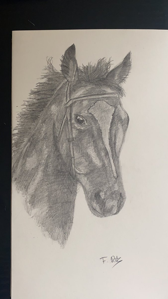 Queen Enable drawing. 3 hours worth while! #itvracing #drawing #enable https://t.co/FNrqWKQVZa