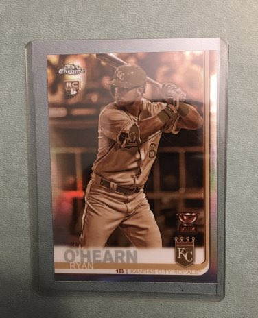 2019 Topps Chrome Ryan O'Hearn #53 RC Sepia Parallel  👉 $2 👉 https://t.co/1FRTlY6gVL  @HobbyConnector @mlbhobbyconnect @DailySportcards #tradingcards #collect #thehobby #hobbybst #kc #kansas #kansascity #kcroyals #royals #alwaysroyal #rookie #topps #baseball #baseballcards https://t.co/pHQs65qpGX