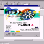Image for the Tweet beginning: Who remembers Macromedia?  Company that, at
