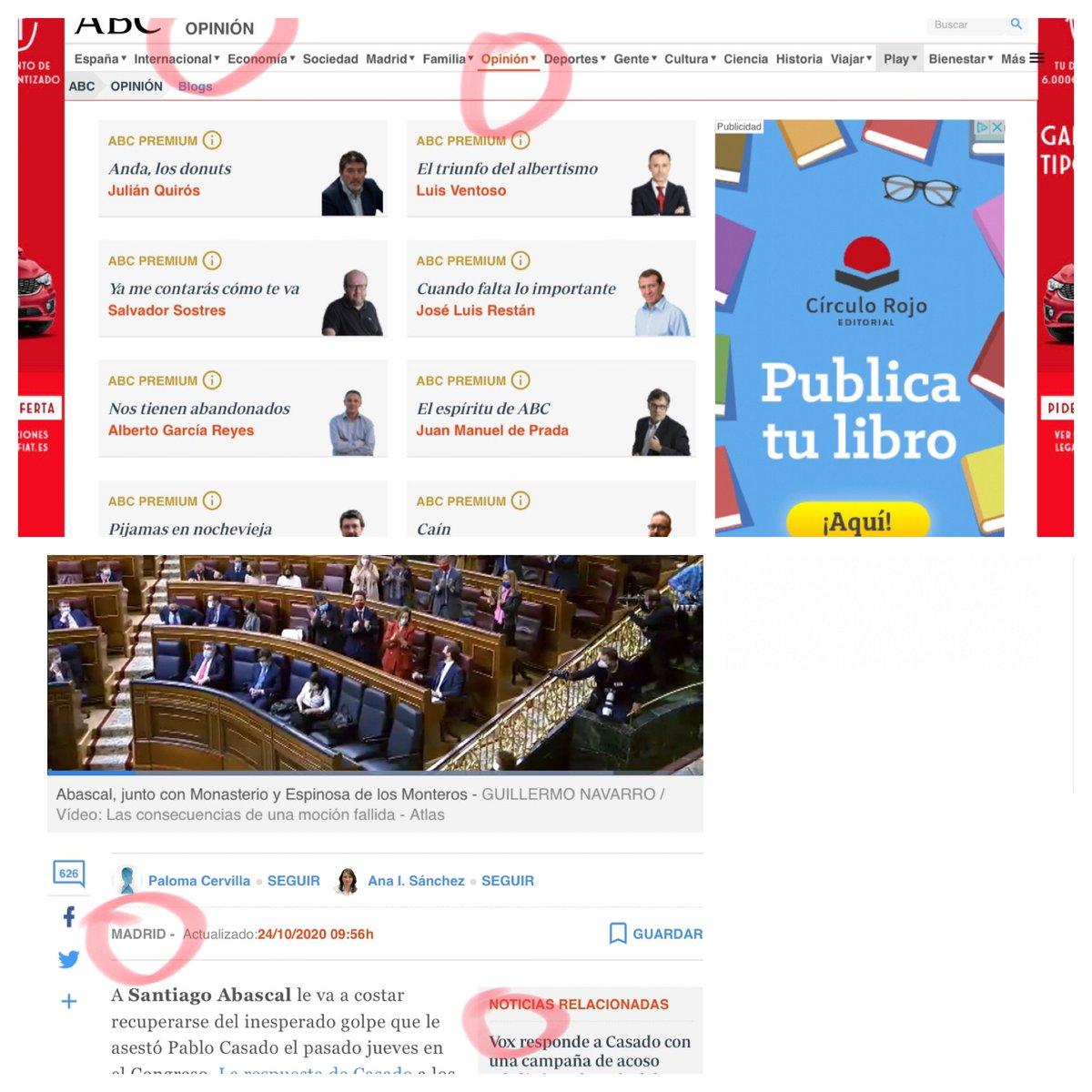 """@FrayJosepho @abc_es Lo que sucede con Girauta en """"opinión"""" y es totalmente compatible con lo dicho:dueños de Neguri tras la salida de los Luca de Tena. Y con que @PalomaCervilla haya consultado una ouija de esas para su """"noticia"""", en presunta seccion """"noticias"""" o de información. Que escriba tribuna. https://t.co/loaNYqXtS4"""